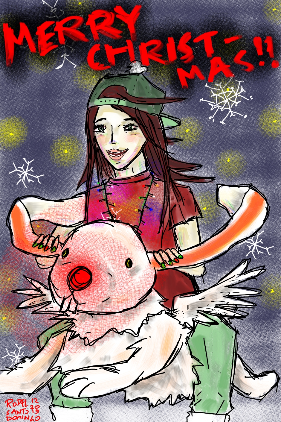 Christmas Fanart by Rhizome